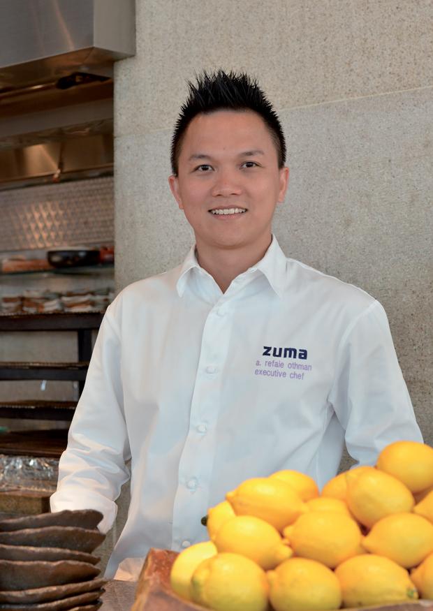 Portrait Reif Othman - executive chef Zuma Restaurants