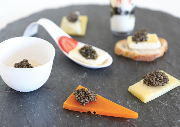 Caviar & Cheese Party
