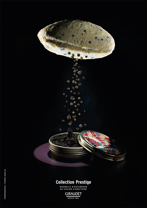 Quenelle d'esturgeon au caviar d'Aquitaine Sturia