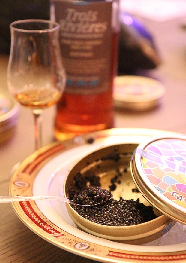 Afterwork : Caviar & Rhum