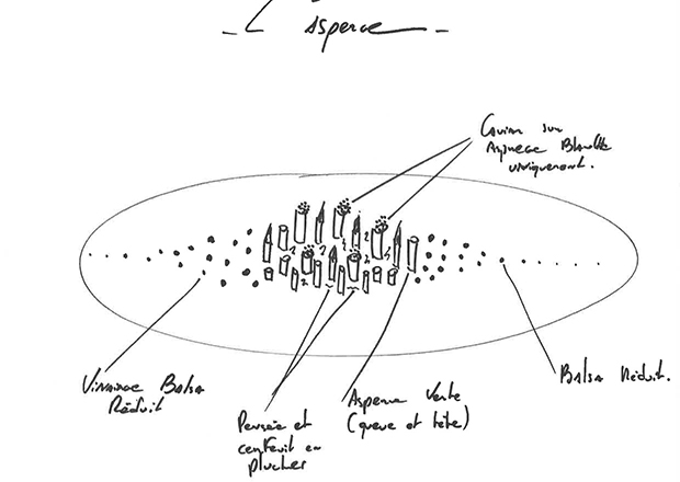 L'asperge, caviar Sturia Origin