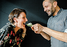 Caviar Sturia Jasmin - Dan Bessoudo et Anne Limbour par Magali Ancenay