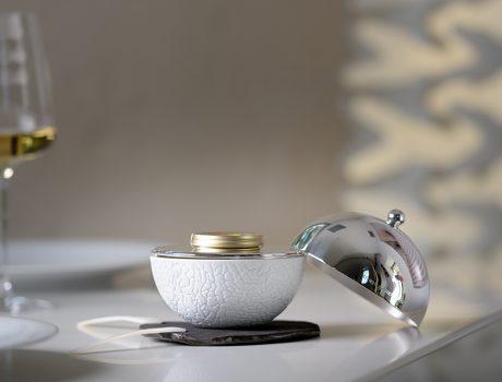 """Nouveau : service à caviar, """"La Perle Sturia x Christofle"""""""